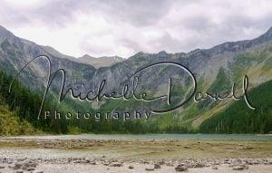 Avalanche Lake, above Trail of the Cedars, Glacier National Park, Montana. 72 dpi, 300 dpi
