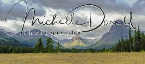 A panorama of Two Medicine valley, taken from the campground. Glacier National Park, Montana. 72 dpi, 300 dpi