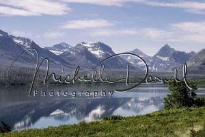 St Mary Lake, Glacier National Park, Montana. 72 dpi, 300 dpi, 600 dpi