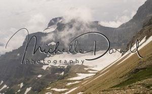 Sexton Glacier on the south side of Siyeh Pass, Glacier National Park, Montana. 72 dpi, 300 dpi, 600 dpi